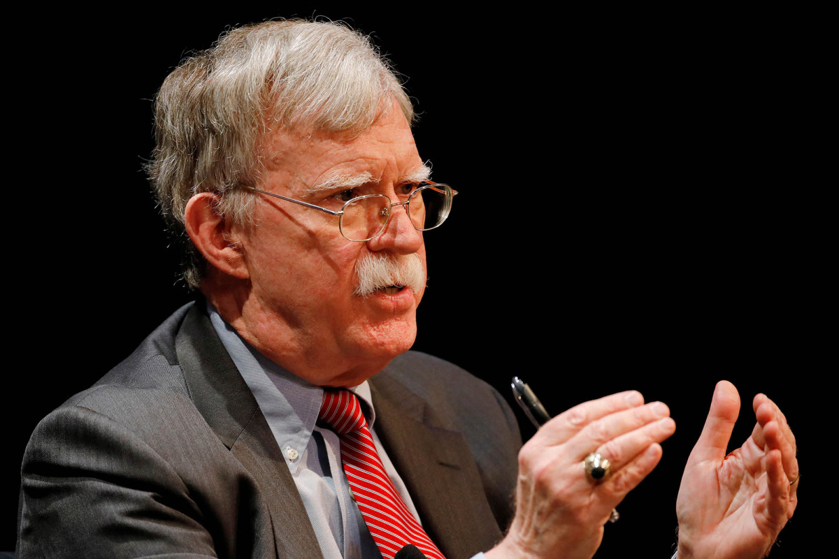 DOJ pursues emergency order to block John Bolton's book