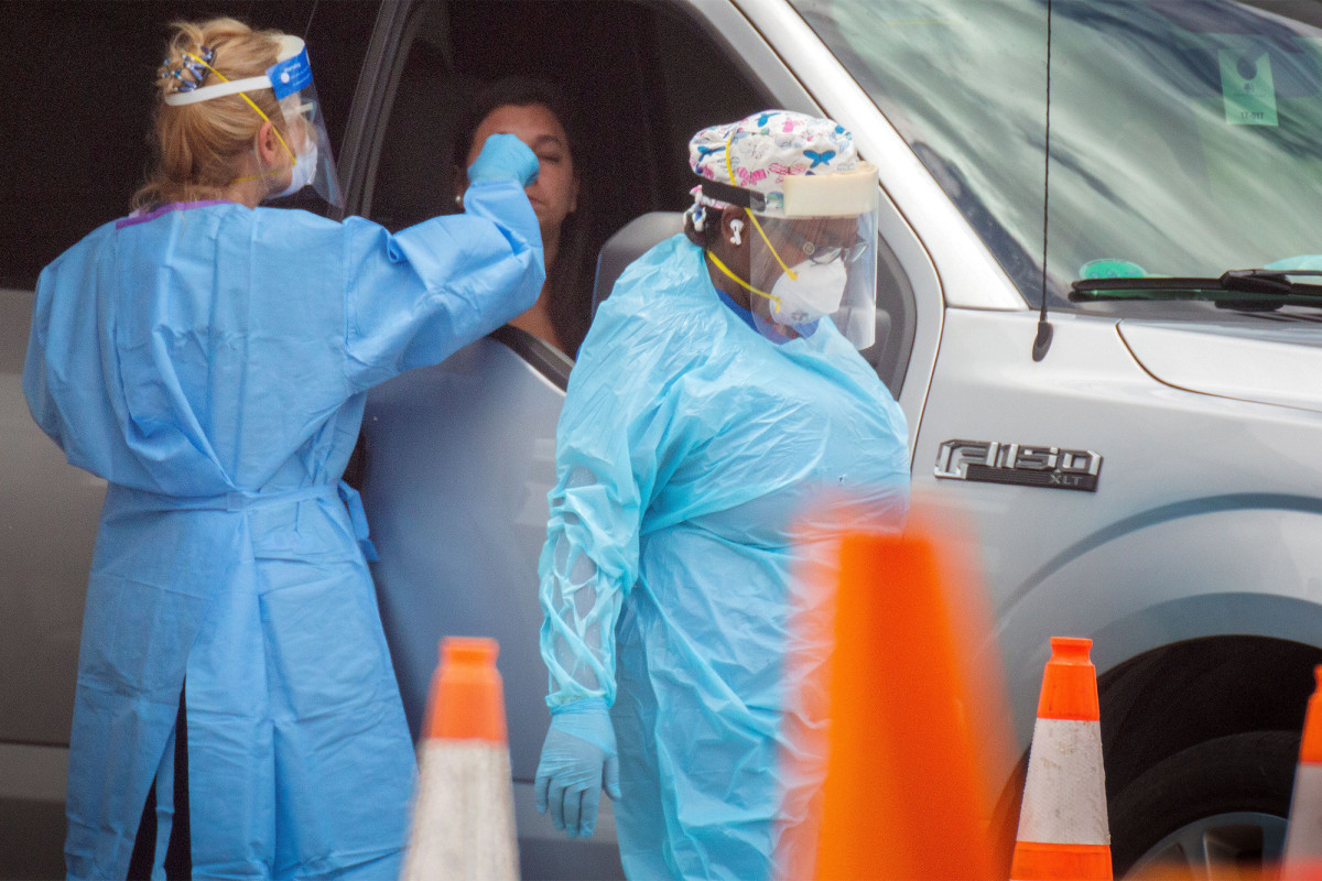 Florida breaks single-day record for new coronavirus cases Friday