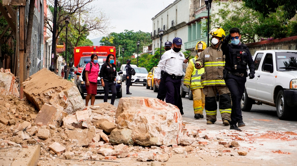 Why today's earthquake in Mexico caused less damage than the smaller 2017 quake