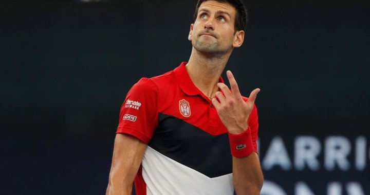Tennis player Novak Djokovic tests positive for coronavirus - National