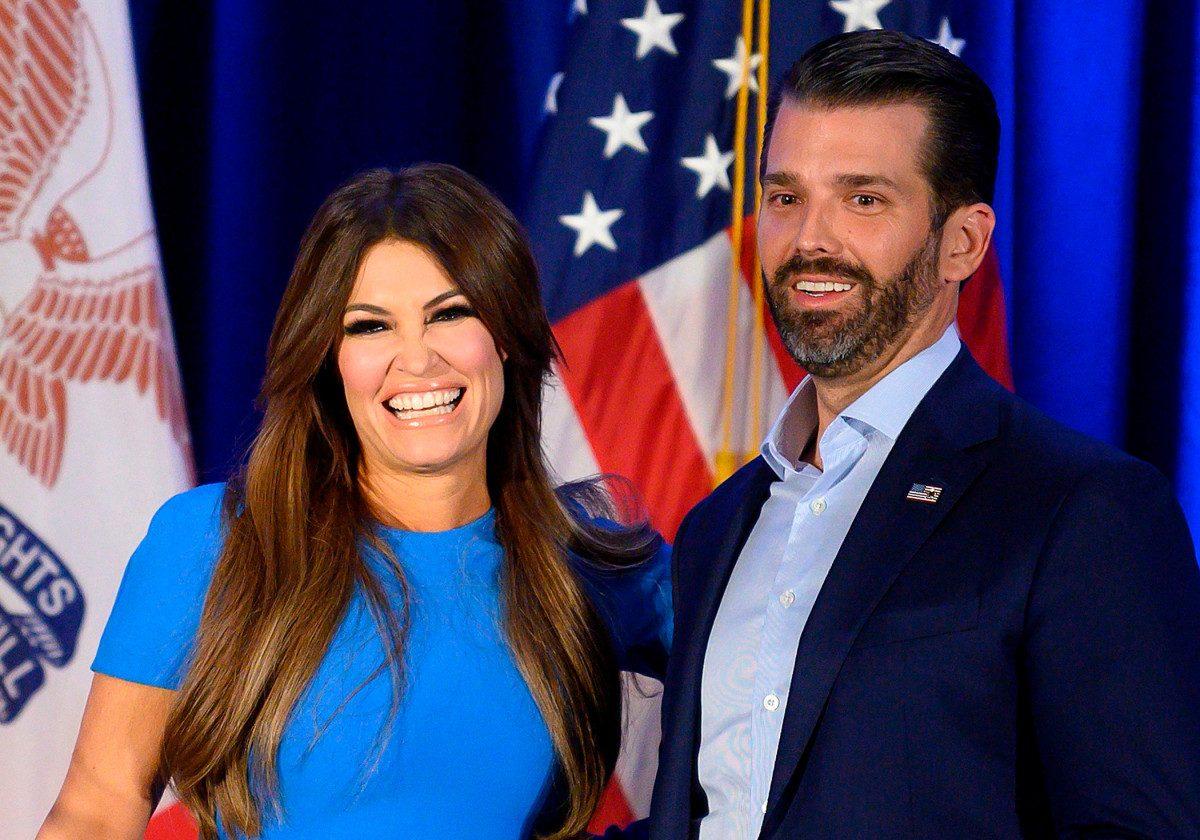 Kimberly Guilfoyle, Donald Trump Jr.'s girlfriend, has COVID-19