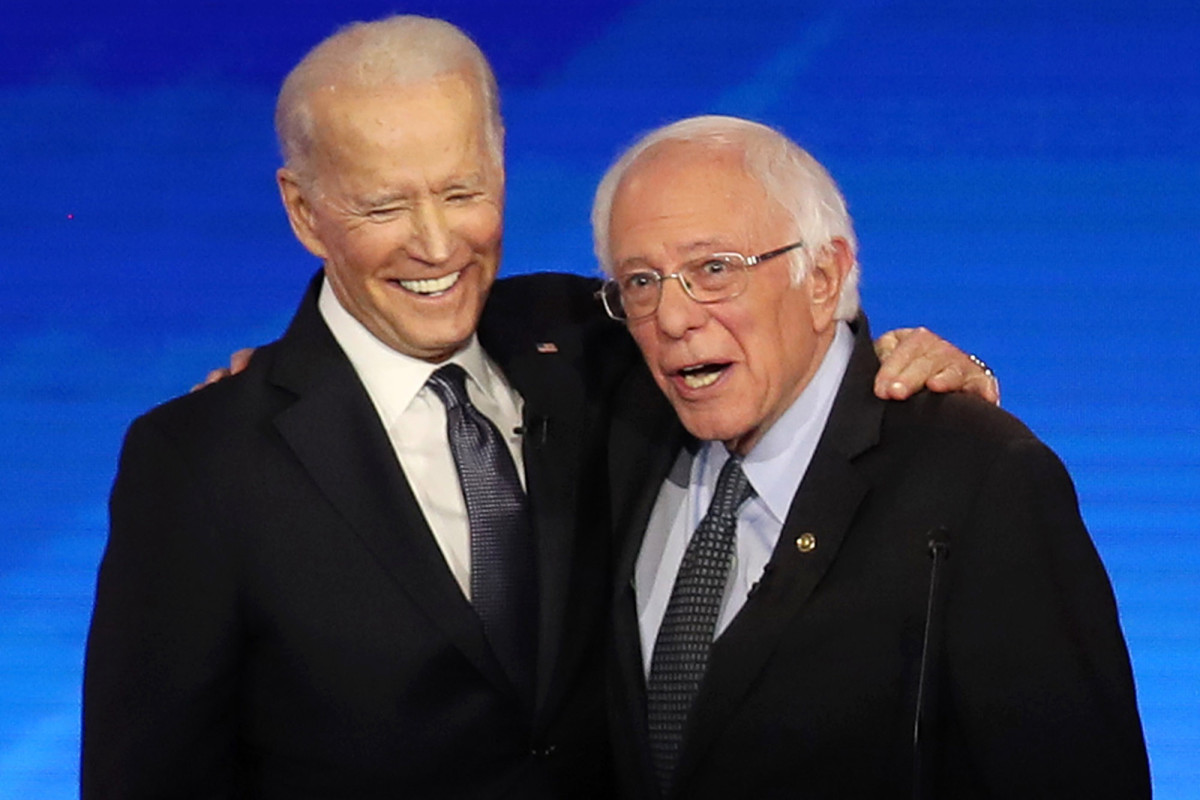 Sanders hails Biden for largely moderate 'unity' proposals