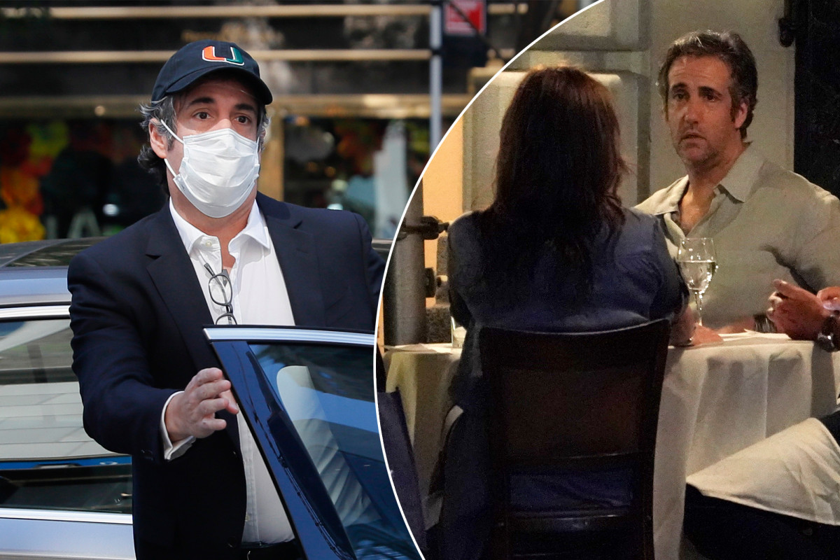 Michael Cohen pleaded for freedom after US Marshal arrived
