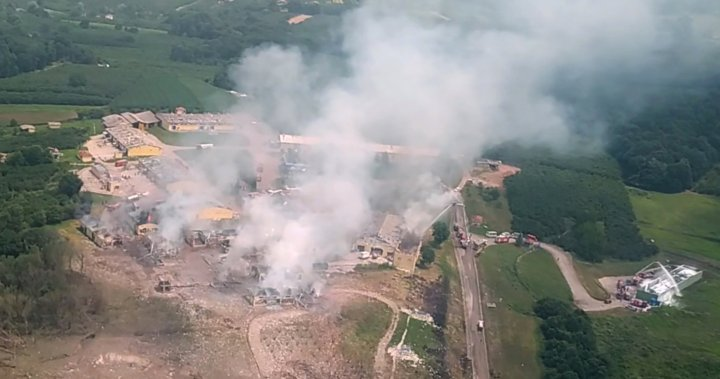 Explosion at fireworks factory in Turkey kills at least 4, leaves dozens injured - National