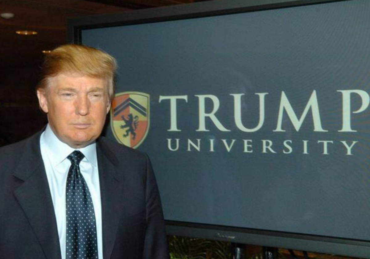 Trump threatens to take away University and School funding because of 'indoctrination'