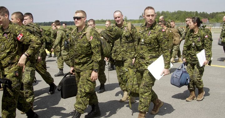 Canadian troops forced to hitch ride with British military to and from Latvia - National