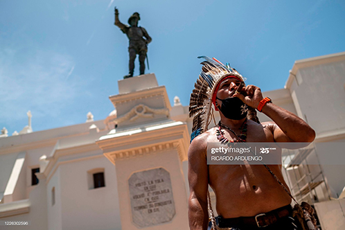 Indigenous People Want Statues Of Colonialists Removed In This US Caribbean Territory