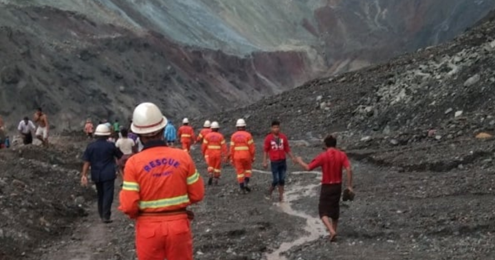 At least 50 dead after jade mine collapses in northern Myanmar - National