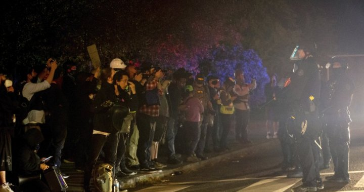 Portland sees flashes of violence as protests continue - National