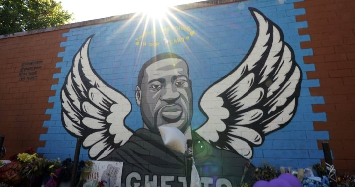 Police body-camera footage shows struggle before George Floyd's death in Minneapolis - National