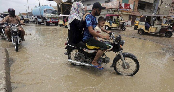 Heavy monsoon rains kill at least 50 people across Pakistan - National