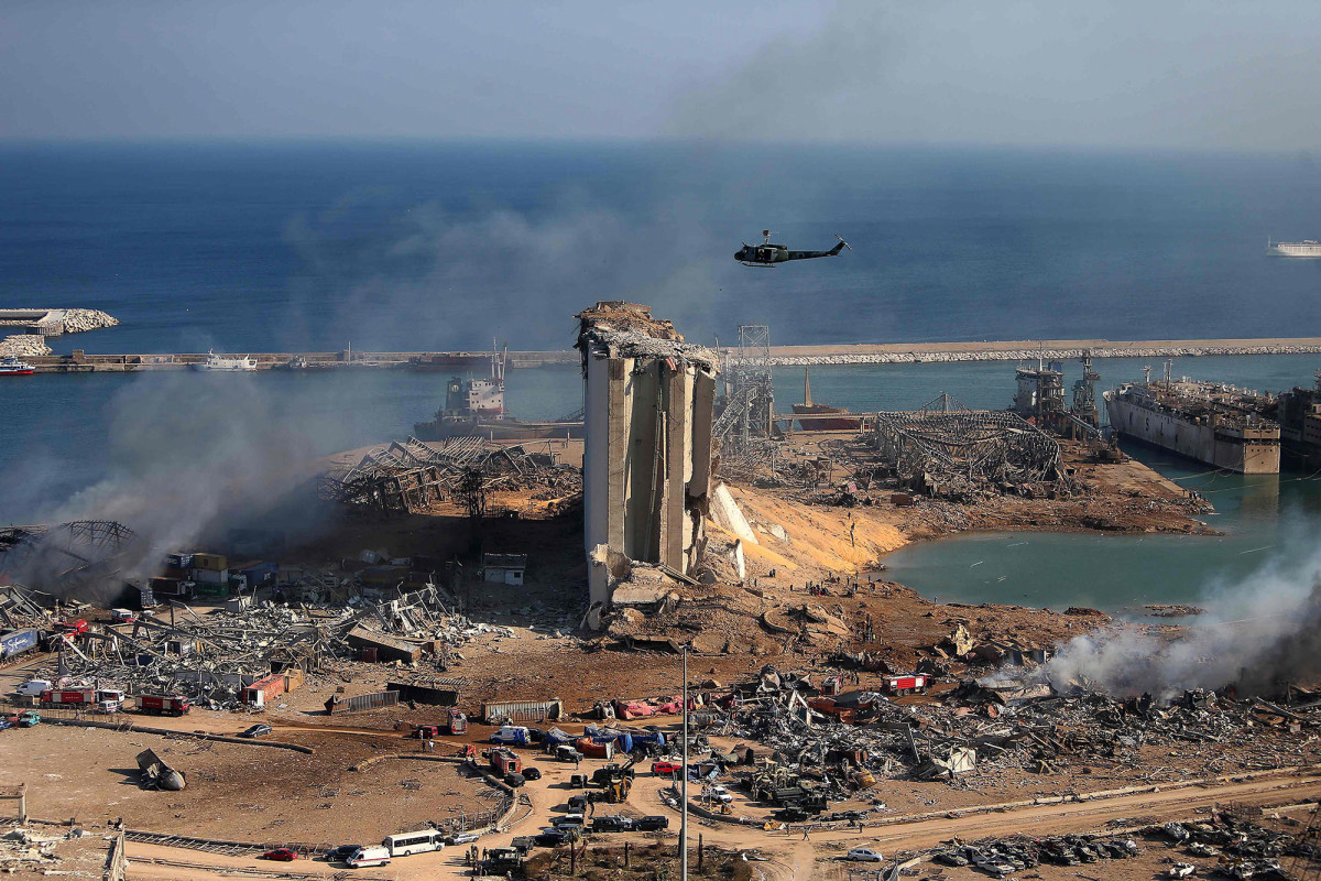 Lebanon's grain supply decimated in Beirut explosion