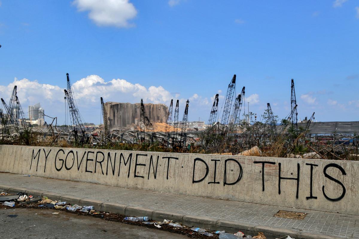 Lebanon's government resigns over Beirut blast, minister says