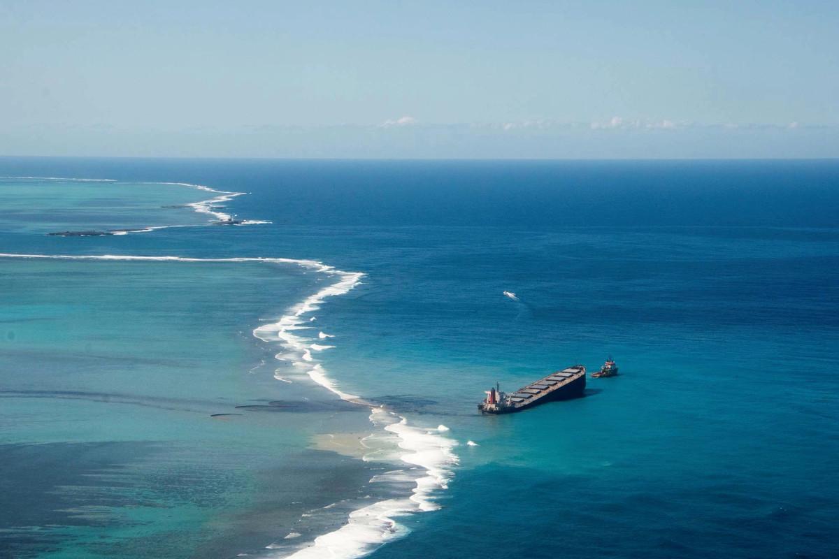 Mauritius MV Wakashio oil spill update from MPTA