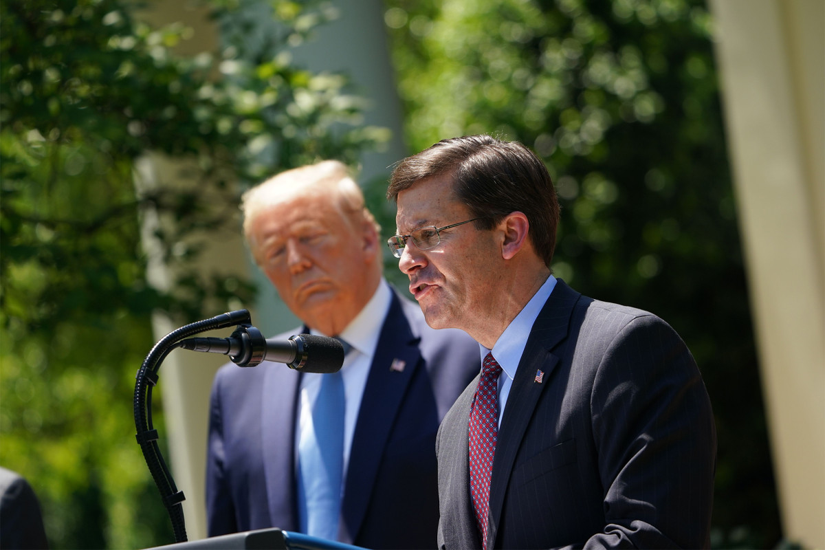Trump reportedly wants to replace Mark Esper after election