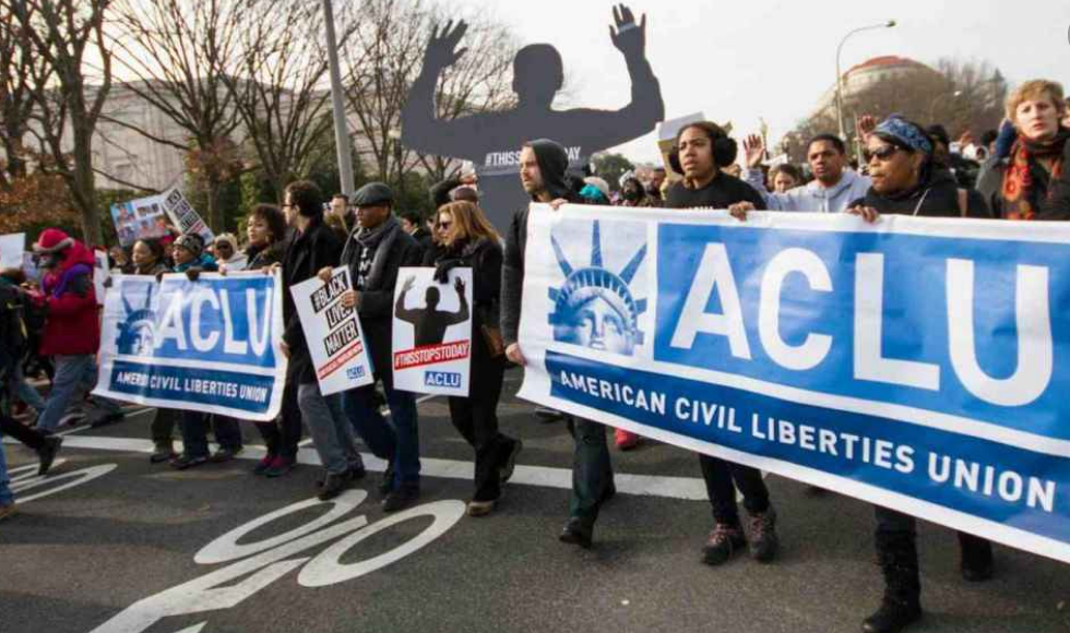 ACLU files nearly 400 cases against Trump