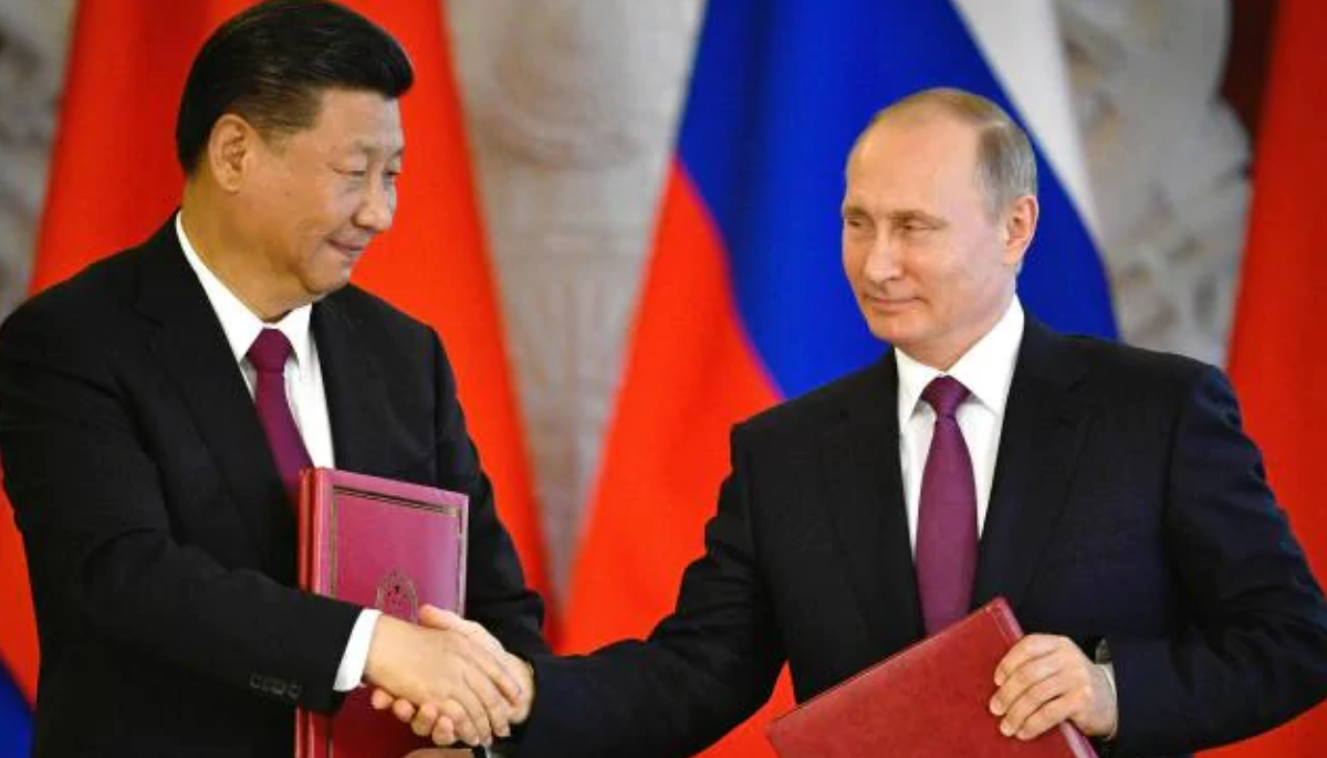China and Russia battle it out