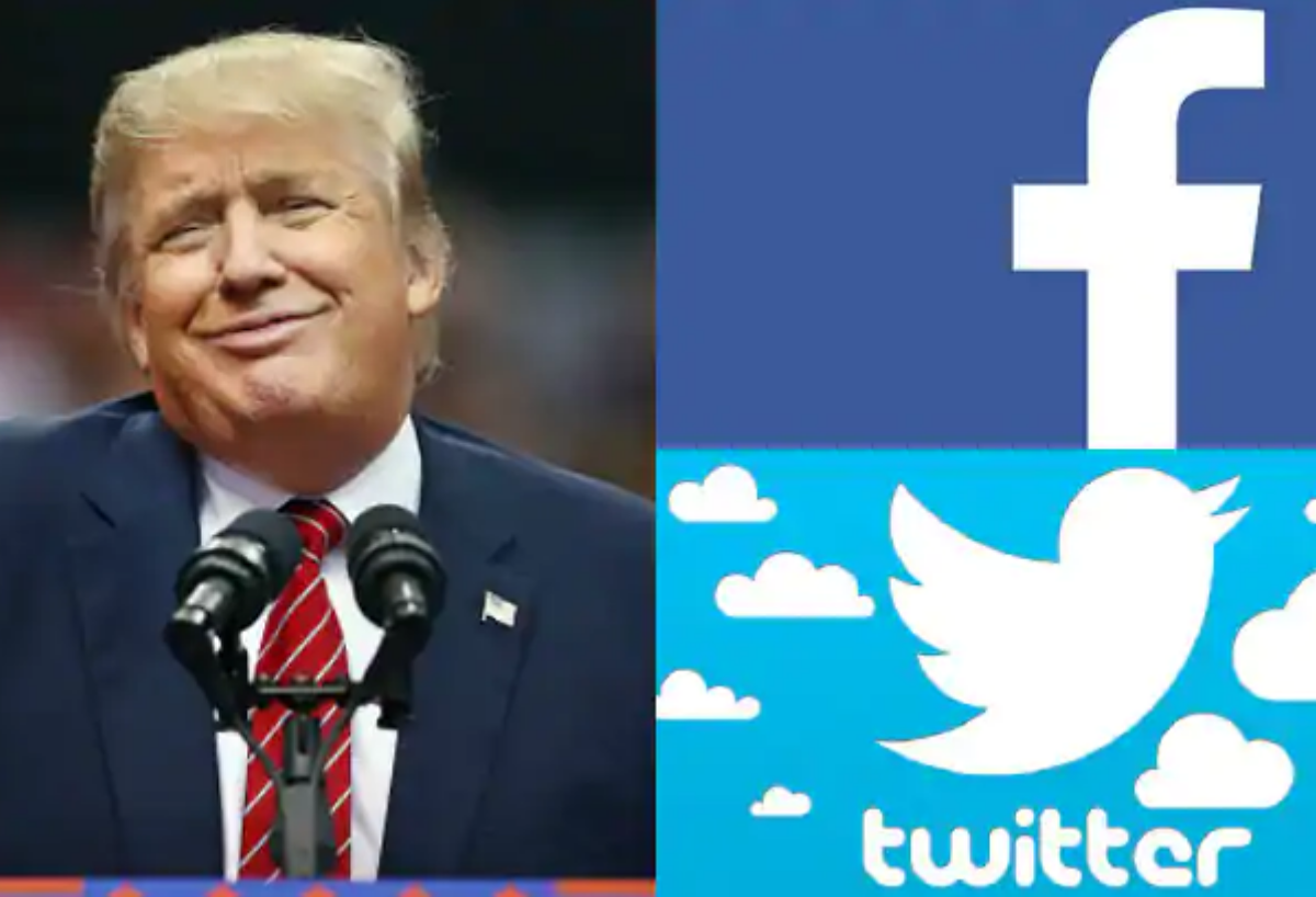 Trump in trouble with Facebook and Twitter over post of video saying children 'almost immune' to coronavirus