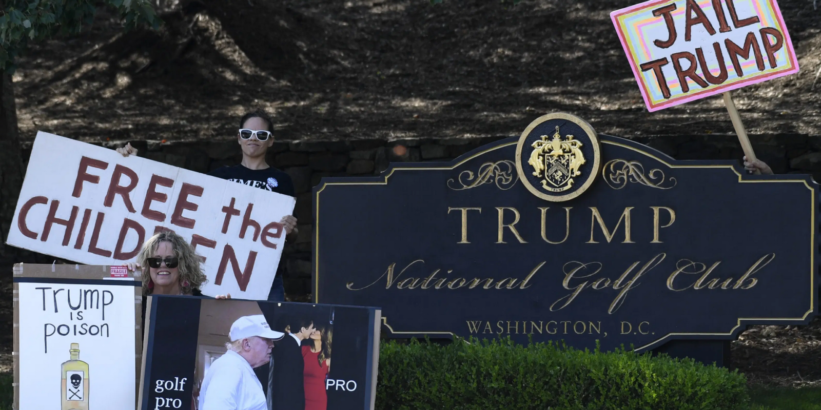 As Covid surges and his campaign flounders, Trump spends more taxpayer money at his own golf course