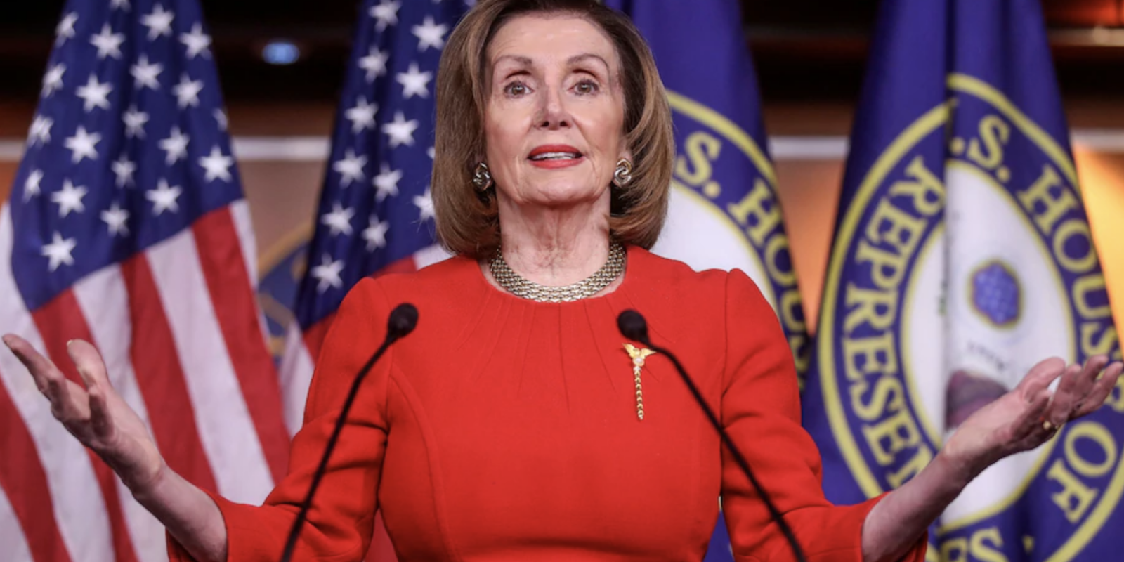Nancy Pelosi could become the next President of the United States