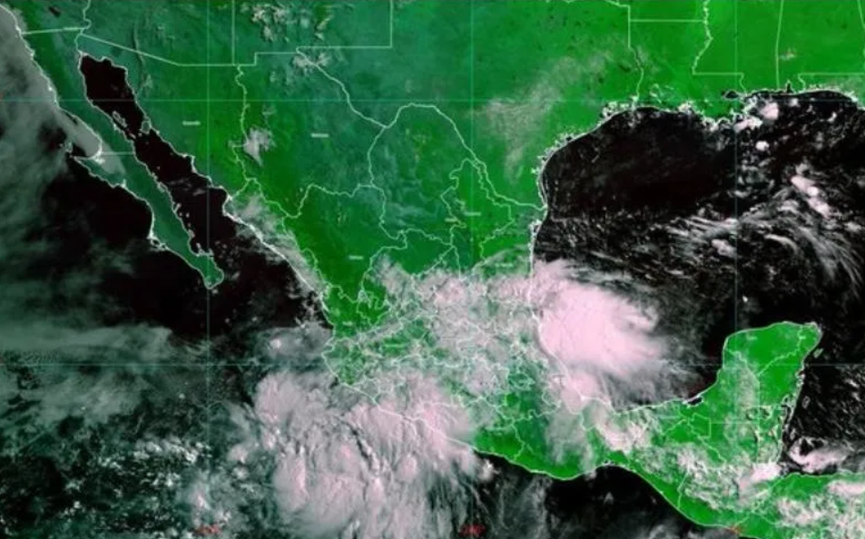 """Tropical storm """"Elida"""" will produce very heavy rains in Jalisco"""