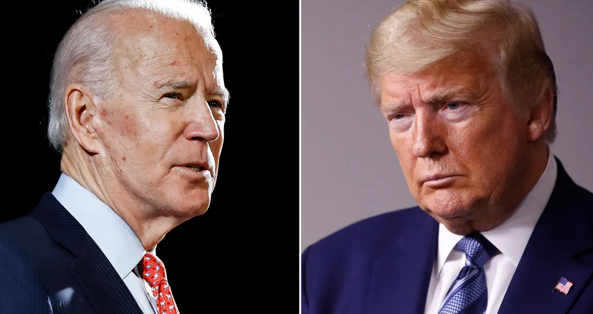 Trump and his allies keep falsely claiming Biden won't debate him