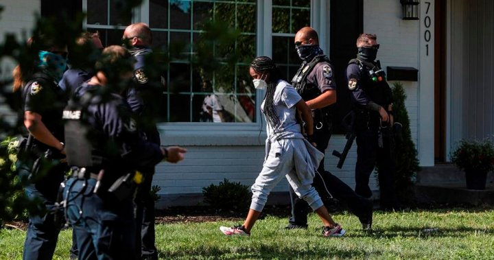 12 arrested and charged in Louisville, K.Y., Breonna Taylor, anti-eviction protests - National