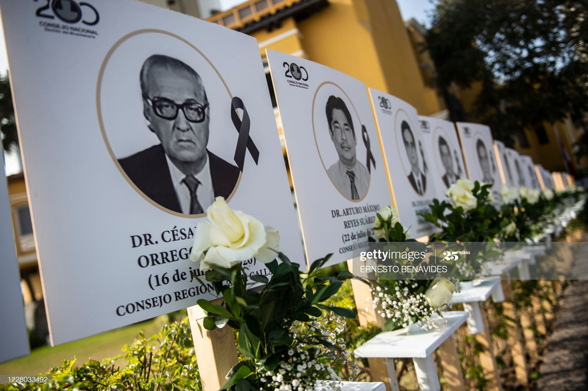 Latin America News - Peruvians Says Goodbye To COVID-19 Victims With Billboards