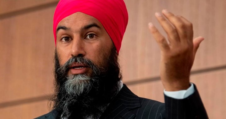 Singh says NDP focused on getting 'help for Canadians,' not forcing an election - National