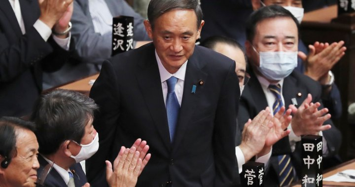 Yoshihide Suga voted Japan's first new prime minister in 8 years by ruling party - National