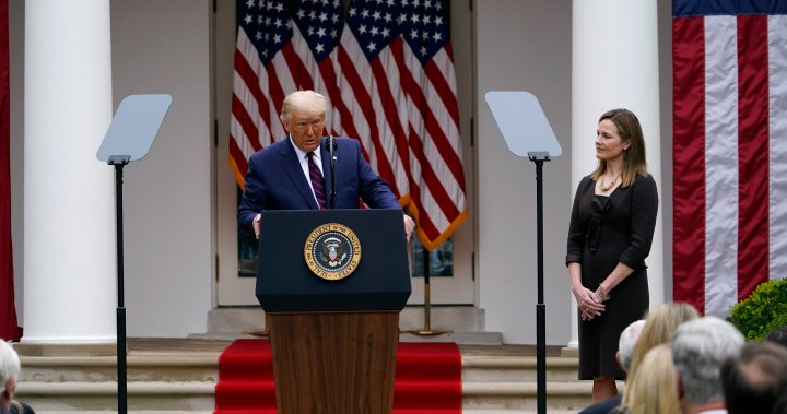 Who is Amy Coney Barrett, Trump's latest nominee for the U.S. Supreme Court? - National