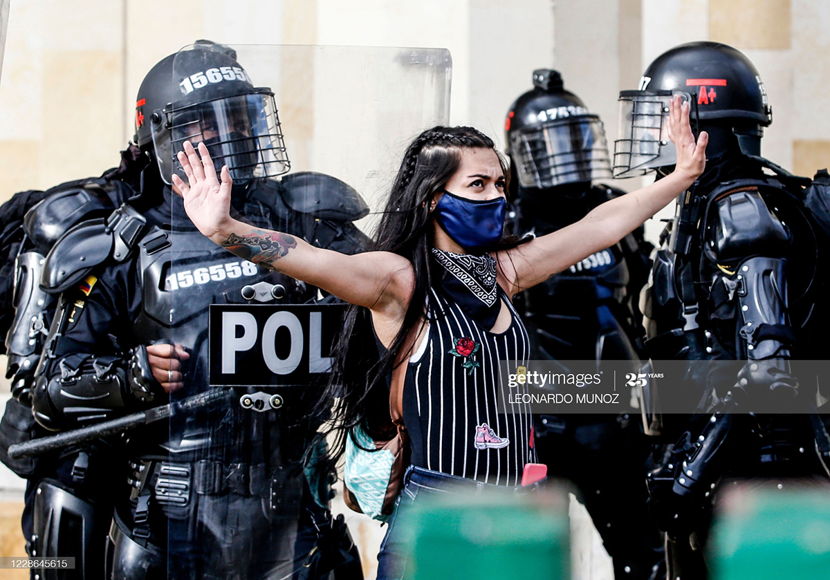 Latin America - Mass Protest Again Held In Colombia