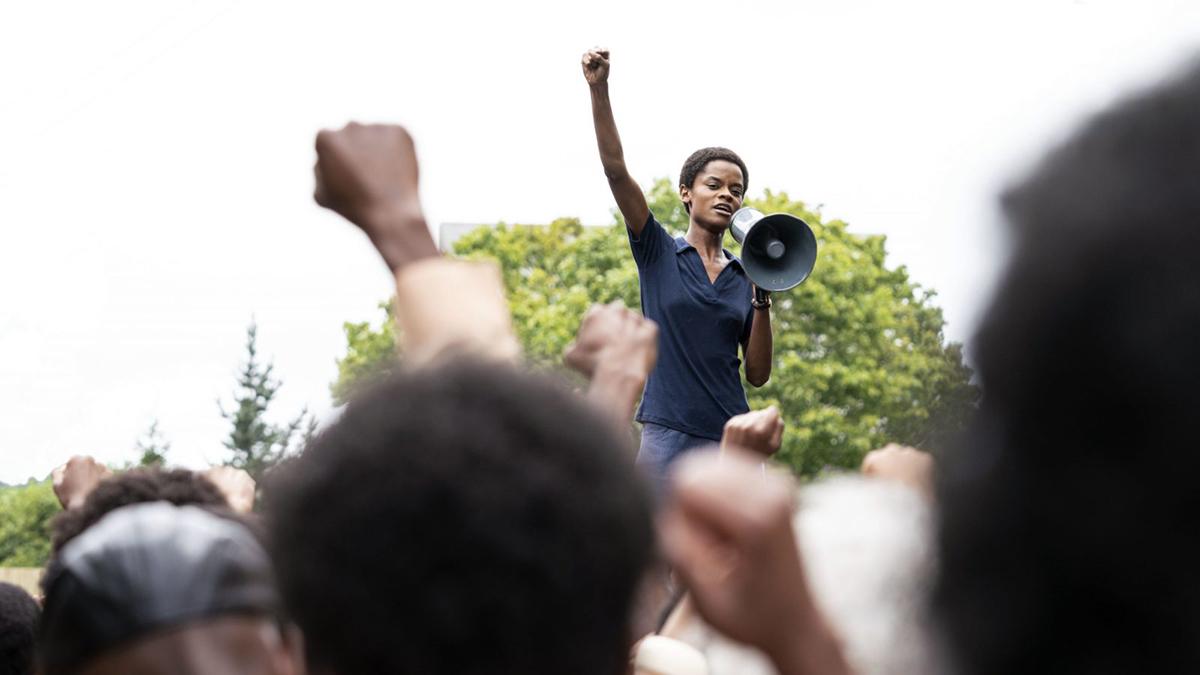 Caribbean Entertainment - Guyana Born Black Panther Actress Returns In Mangrove At New York Film Festival