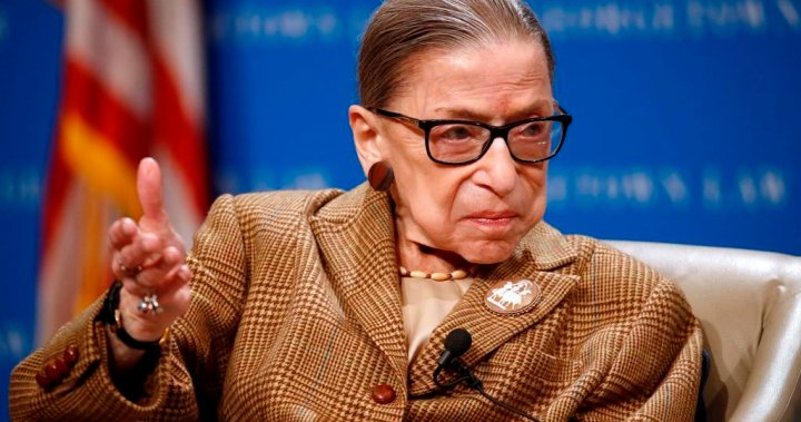 Ruth Bader Ginsburg, U.S. Supreme Court justice and pioneer for women, dies at 87 - National