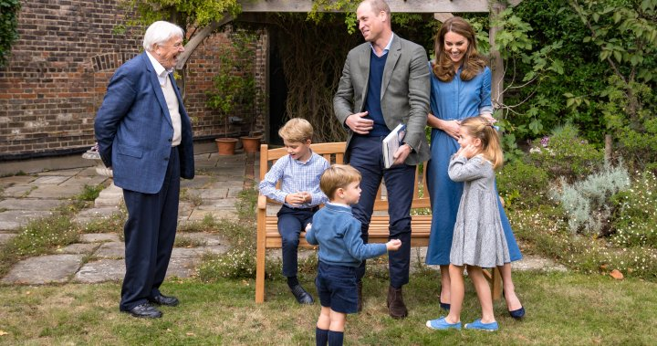 Children of Prince William, Kate Middleton ask David Attenborough questions about wildlife - National