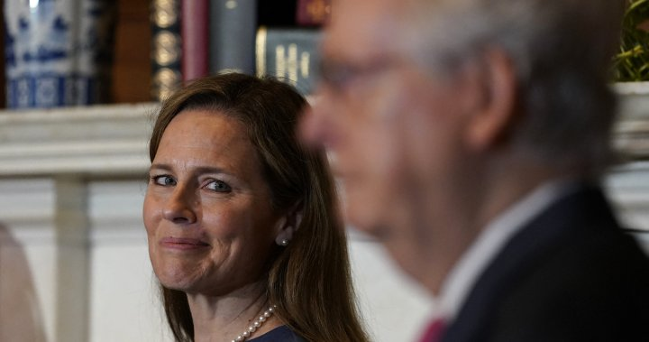 Republicans call for Senate pause, but push ahead with Amy Coney Barrett hearings - National