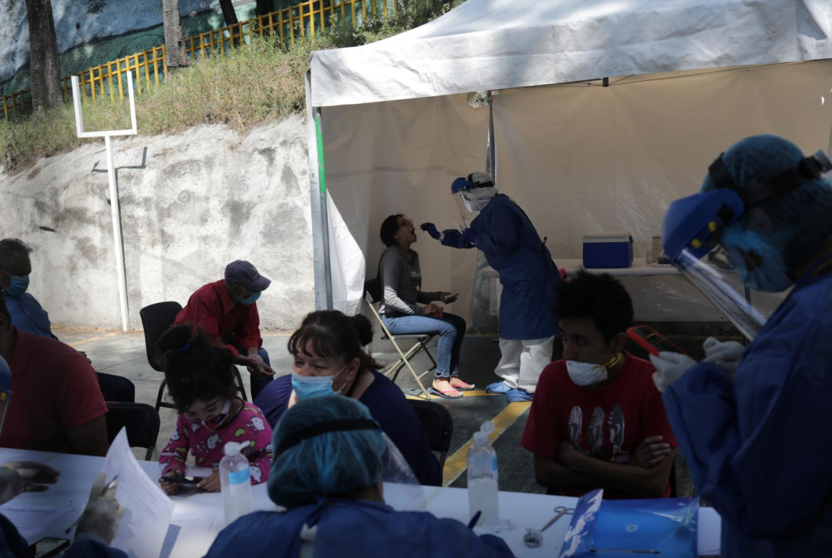 Mexico City discourages large gatherings as COVID-19 hospitalizations rise