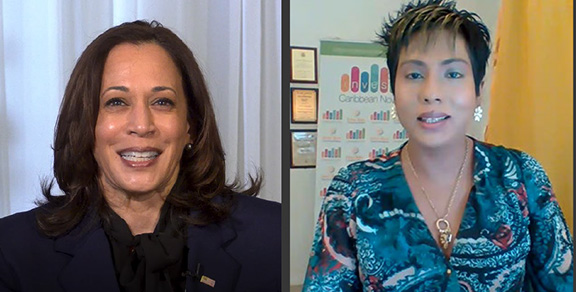 Caribbean News - US VP-Elect Harris Thanks Caribbean American Voters For Helping Make History