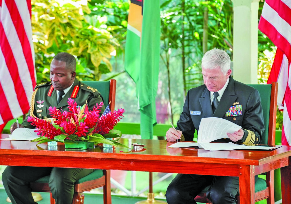 Caribbean News - Guyana, US Sign New Pact