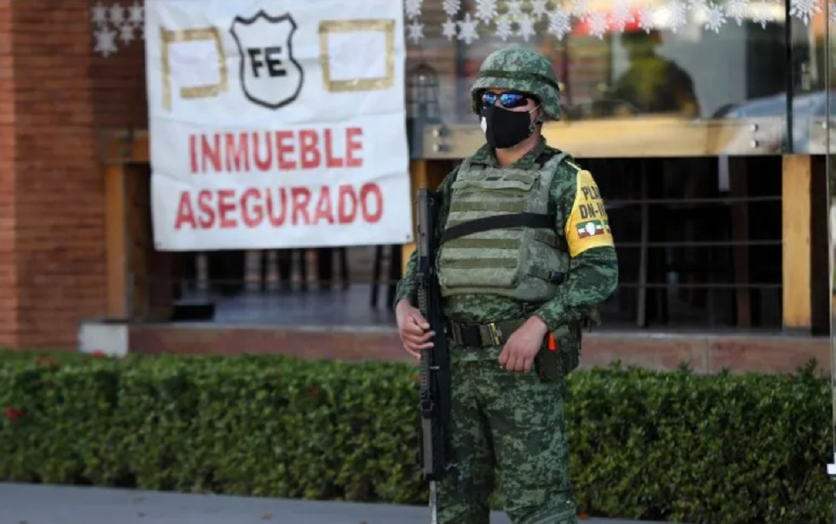 Mexico's Navy takes over control of security in Puerto Vallarta