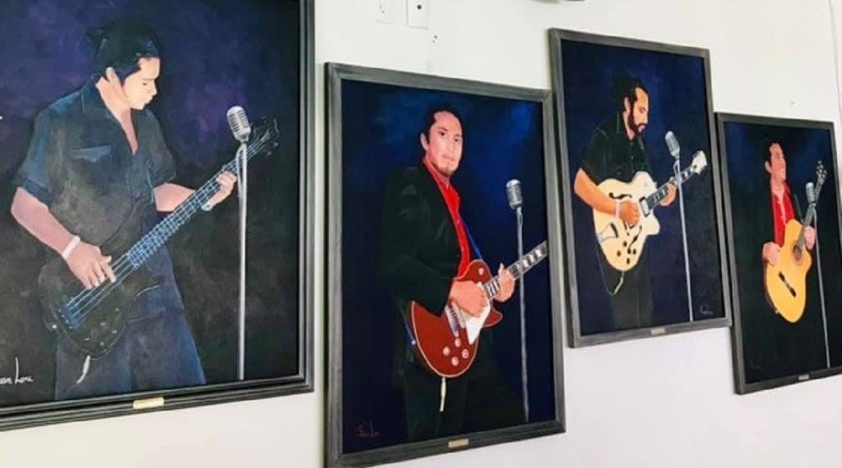 Lazzaro, Immer, Giorgio and Carlos Morales (aka Los Bambinos)