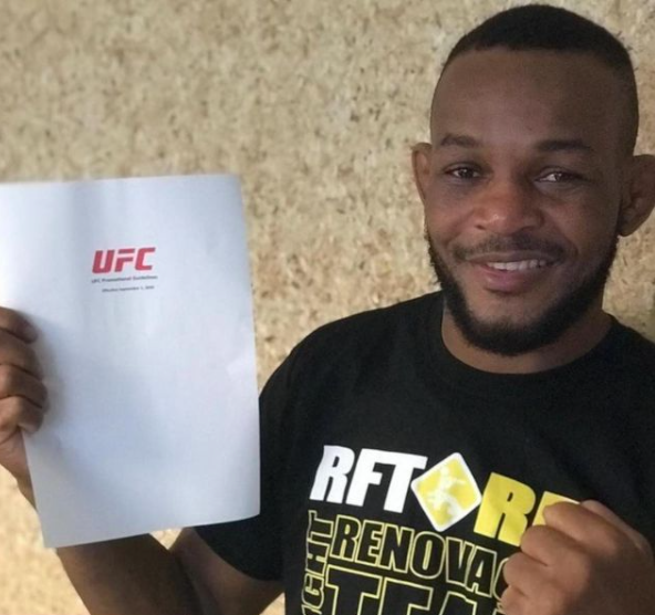 Caribbean Sports - Guyanese Set For First UFC Fight