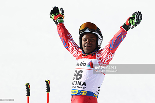 Caribbean News - This Haitian Skier Finishes At The FIS World Ski Championships