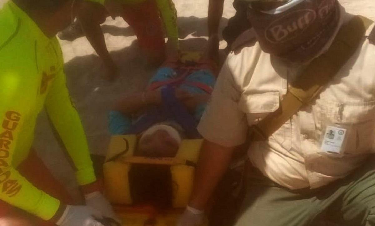 12-year-old boy falls from parachute in Puerto Vallarta