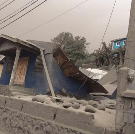 Caribbean News - Thousands Of Nationals Will Be Displaced For Months Amid Saint Vincent Volcanic Eruption