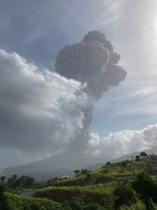 Caribbean News- St. Vincent And The Grenadines Volcano Erupts