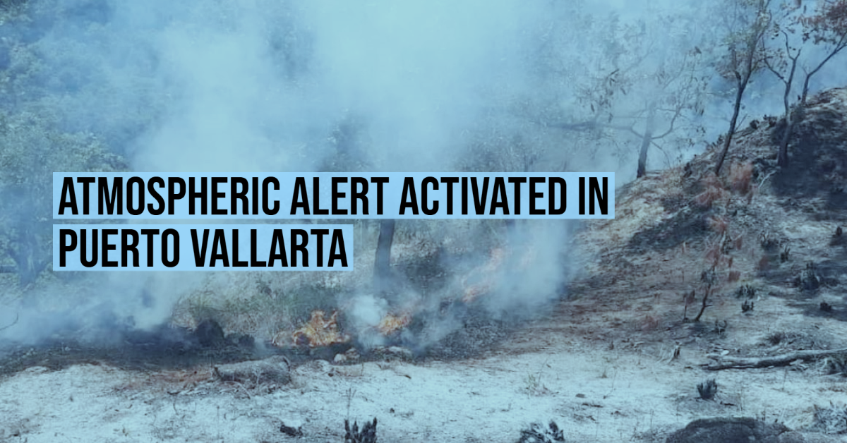 Atmospheric alert activated in Puerto Vallarta