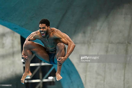 Caribbean Sports - This Caribbean Diver Is Going To The Summer Olympics