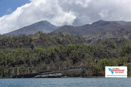 Caribbean News - A View From Volcano Damaged Owia, St. Vincent