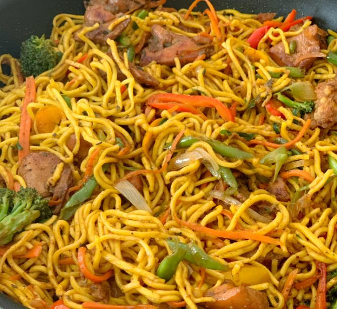Caribbean Recipes – Guyana Style Chowmein